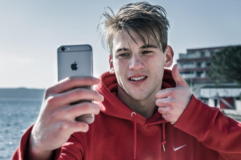 iphone selfie