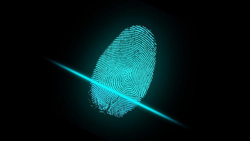 biometric finger scan